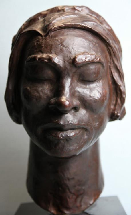 Nicolaus Koni (1911-2000) Hungarian-American Bust of Marian Anderson, 1963 Bronze
