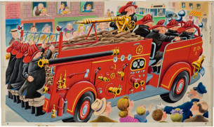 The Great Big Fire Engine, Tibor Gergely, 1950