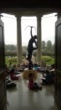 Saturday Morning Art Class in Diana Gallery