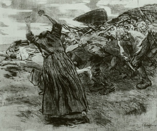 Kollwitz-Peasant Revolt