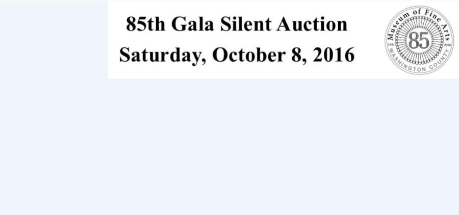 85th Gala Silent Auction