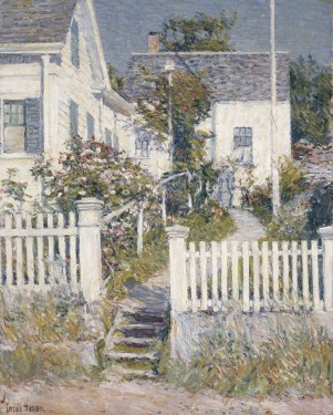 """White House, Gloucester"", Childe Hassam, 1895"