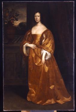 """Elizabeth Cokayne, Viscountess Fanshawe"", Cornelius Johnson, (1609-1667)"