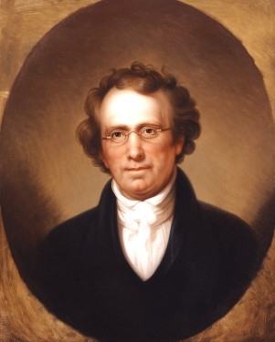 """Portrait of Henry Robinson"", Rembrandt Peale, 1816"