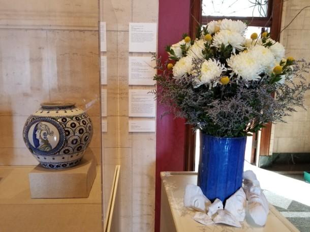 Barbara Ingram School for the Arts: Emily Kellogg, Miranda Palladino, and Todd Geiman Artwork: Vase with Majolica Glaze, 17th C. by unknown Italian maker