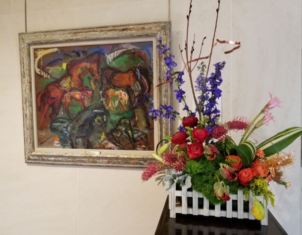 Crossroads Garden Club: Sukey Rankin Artwork: Kentucky Spring by Ann Cole Phillips