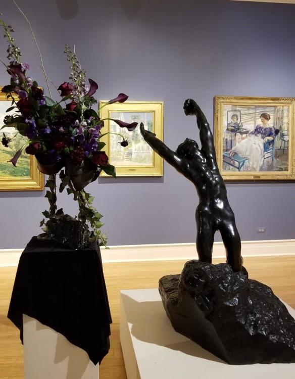 Designers Guild: Marilyn Potter Artwork: Prodigal Son by Auguste Rodin