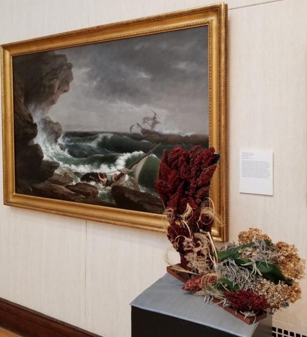 Antietam Garden Club: Vern Danielson Artwork: The Shipwreck by Thomas Birch