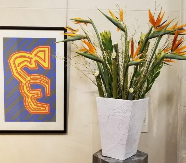 Barbara Ingram School for the Arts: Brandy Merchant, Jennifer Nagel, and Louise Wang Artwork: Print from the Electric Sky Portfolio by Chryssa