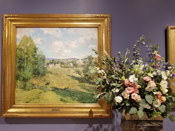 Kelly White Artwork: New England Afternoon by Willard Leroy Metcalf