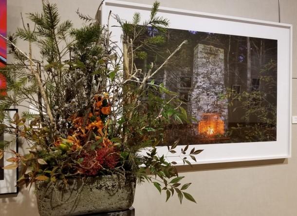 New Market Garden Club: Marilyn Potter Artwork: Chimney, Belding Wildlife Area, Fall, by Alyssa McDonald