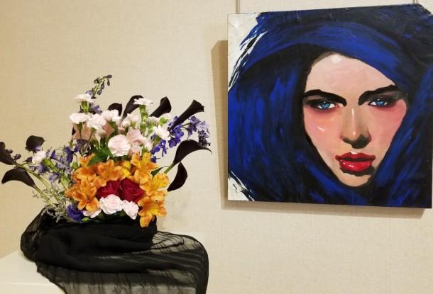 Biglerville Garden Club: Terry Cabana Artwork: Ruby's Blues by Heather McCauley Fitz