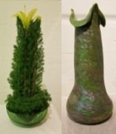 Carroll Garden Club: Karen Rock and Brenda Powell Artwork: Vase, 1902 by Josef Rindskopfs Söhne