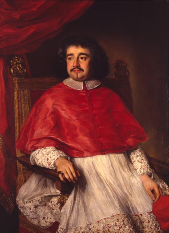 Ferdinand Voet, Portrait of Cardinal Flavio Chigi, 1670, Oil on canvas, Palazzo Chigi, Ariccia.