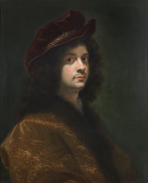 Giovan Battista Gaulli (Baciccio), Self Portrait, 1668, Oil on Canvas, 35 1/4 x 29 7/8 in.