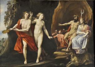 10. Giuseppe Cesari, called Cavalier d'Arpino , Orpheus and Eurydice, 1620-25, Oil on canvas, Couretesy of Collection Lemme, Palazzo Chigi, Ariccia.