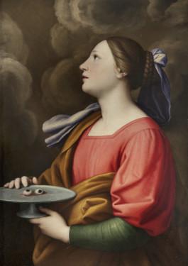 11. Giovan Battista Salvi, called Il Sassoferrato , Saint Lucy, 1630-40, Oil on canvas, Courtesy of Collection Fagiolo, Palazzo Chigi, Ariccia.
