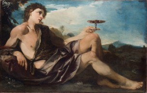 16. Pier Francesco Mola, Bacchus, or the Allegory of Taste, 1662-66, Oil on canvas, Palazzo Chigi, Ariccia.