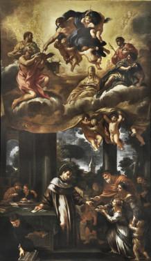 19. Ciro Ferri, Saint Ivo Distributes Charity, 1660-70, Oil on canvas, Courtesy of Collection Fagiolo, Palazzo Chigi, Ariccia.