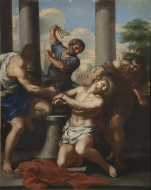 Pietro da Cortona, The Flagellation, c. 1630, Oil on Canvas, Palazzo Chigi, Ariccia