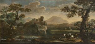14. Jean de Momper, Landscape with Hunting Scene, 1665, Oil on canvas, Palazzo Chigi, Ariccia.
